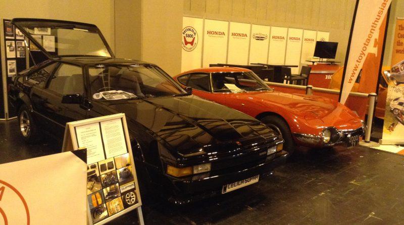 TEC stand at NEC Classic car show